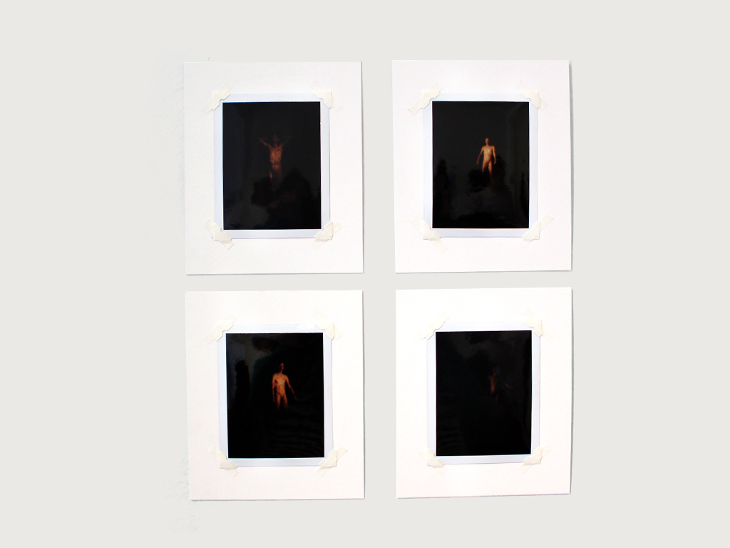 "OMAR LOPEX ""Untitled"" Polaroids, 4½"" x 3½"", 2016"