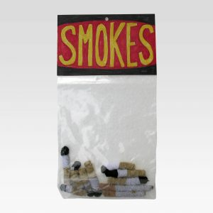 "Smokes, pipe cleaners, 13"" x 7"" x 3"", 2011"